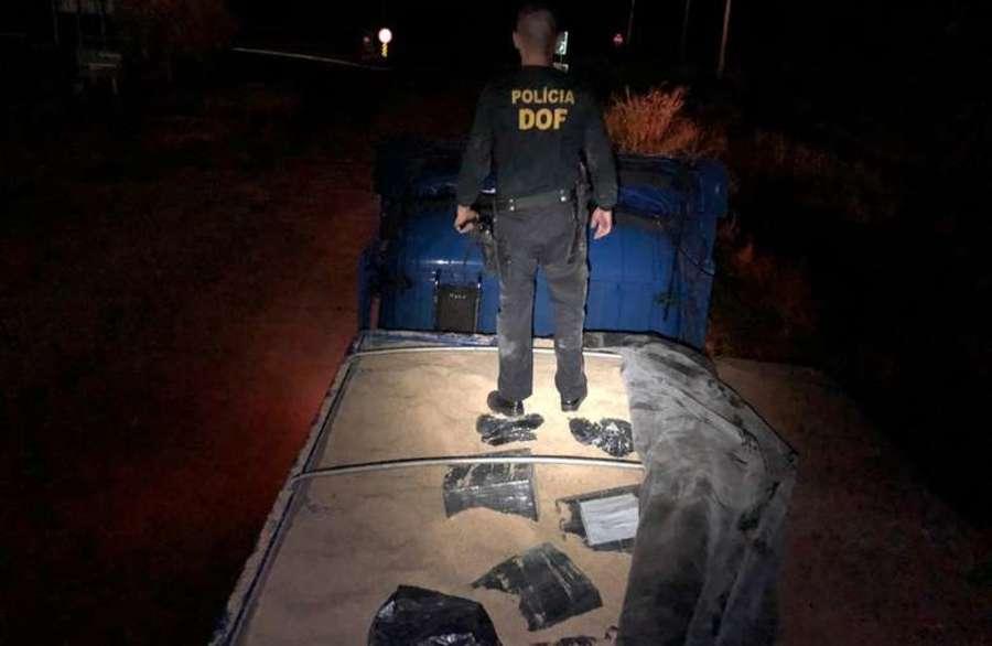 Center policial na carreta