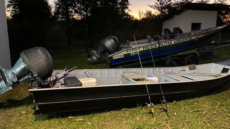 Center barco motor e petrehcos pesca rio paran 10 de julho de 2020