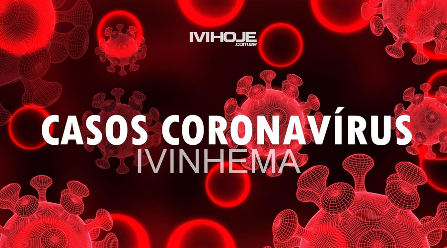 Center covid 19 cells and red blood cells on red background vector