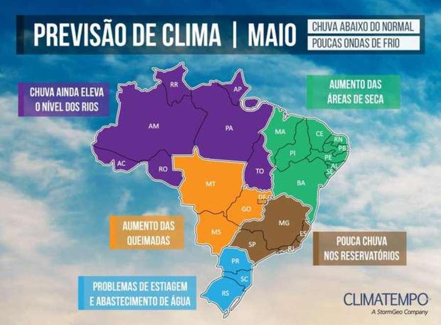 Center climatempo imagem maio