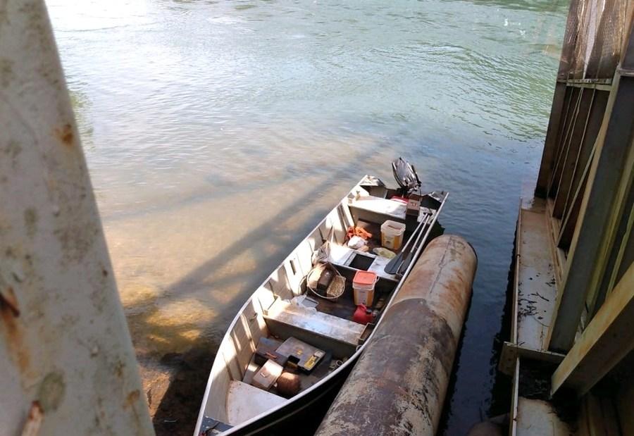 Center barco e motor apreendido gua clara rio verde 30 de maio de 2021