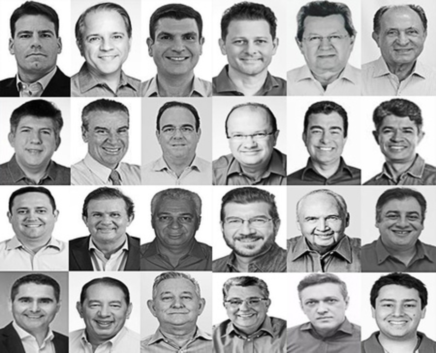 Center left or right deputados eleitos