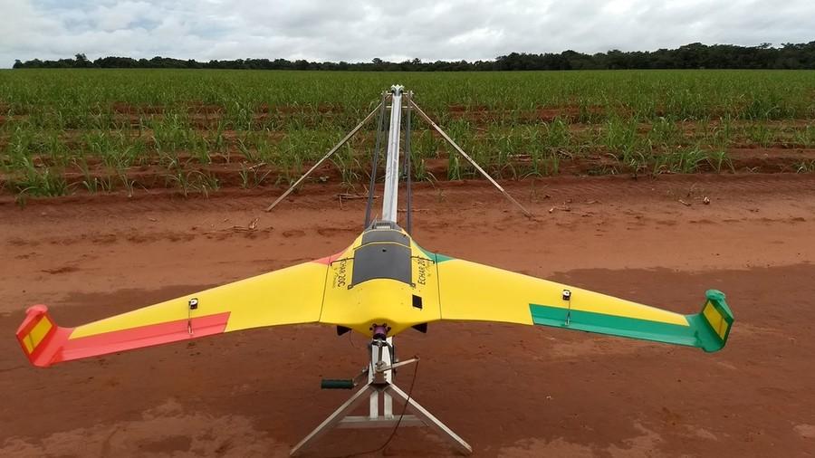 Center aeronave catapulta drone